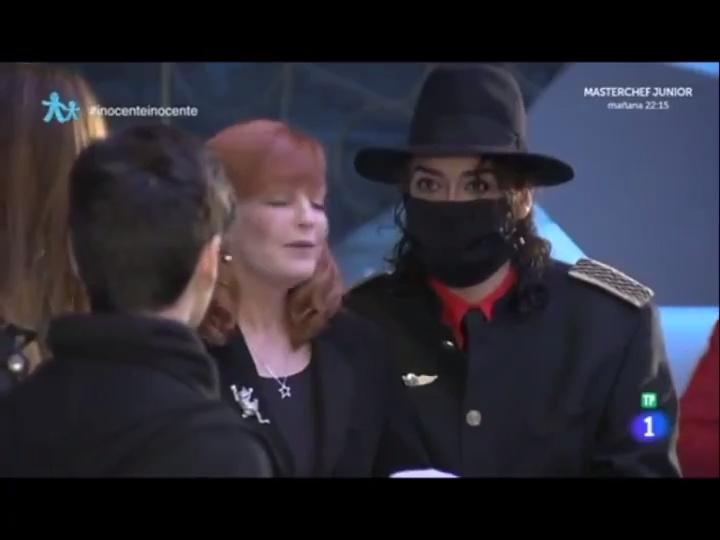 Hace tres años le hicieron creer el día de los inocentes a Abraham Mateo que Michael Jackson seguía vivo