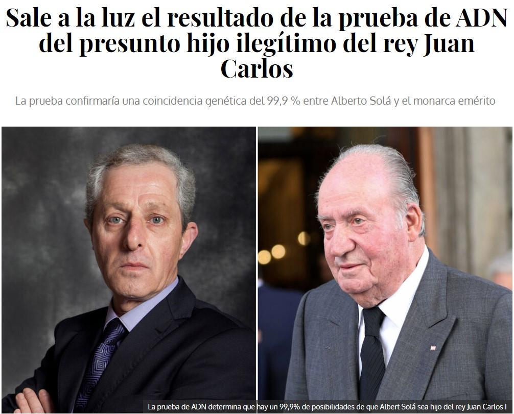 Alberto Solá es el John Nieve del Reino de España