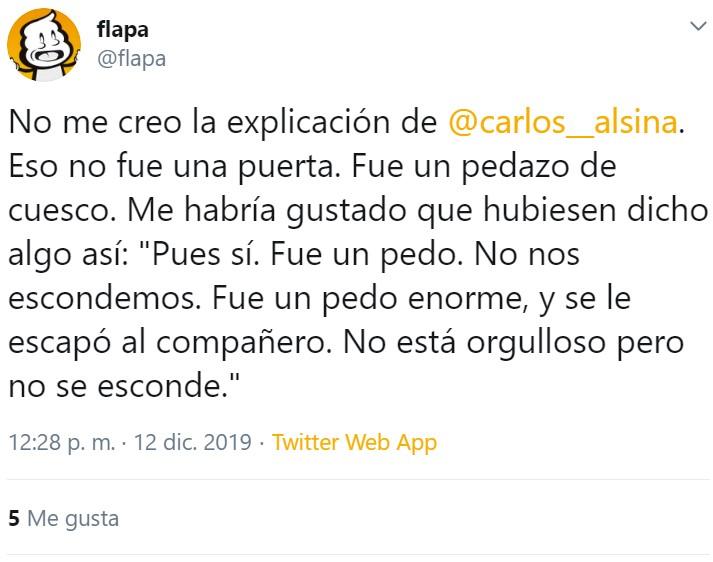 Declaración institucional de Carlos Alsina sobre el PEDACO del que todo el mundo habla