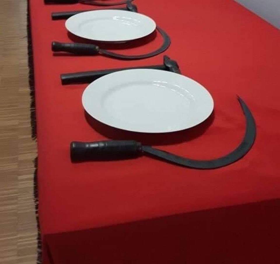 La cena de hoy en el PSOE