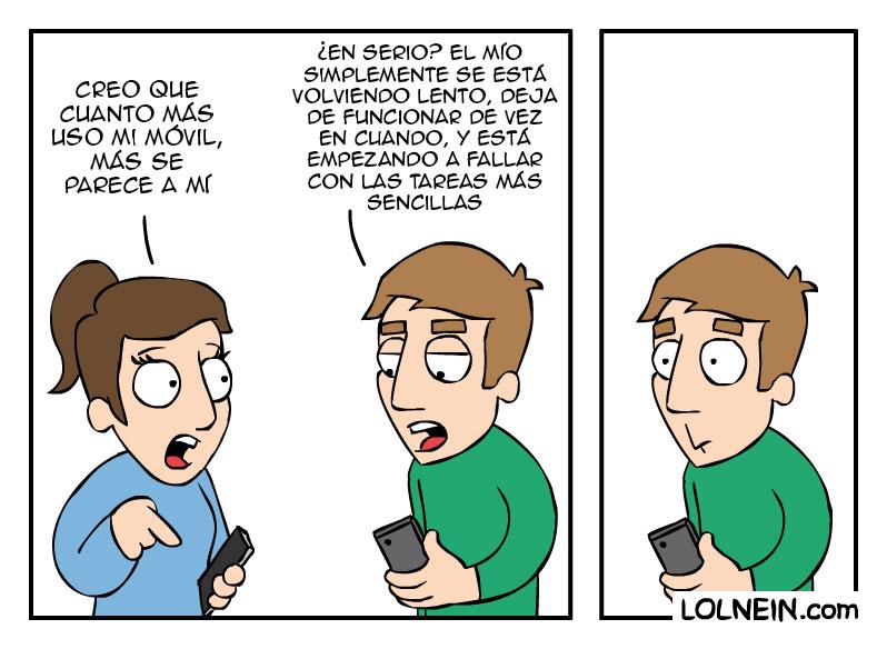 Los teléfonos se parecen a sus dueños
