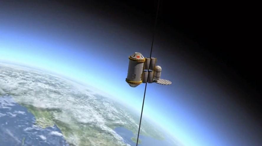 Japón quiere crear un ascensor para subir al espacio
