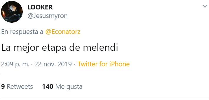 """""""La mejor etapa de Melendi"""""""