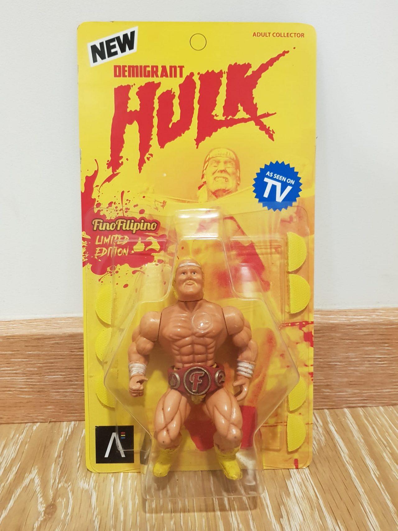 Regalo de un finolier: Hulk Demigrant Limited Edition