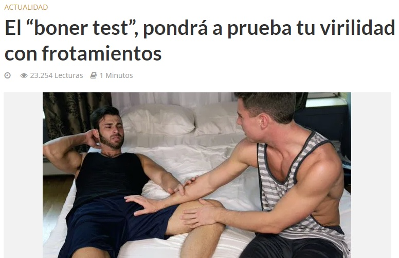 El test definitivo para saber si eres gayer