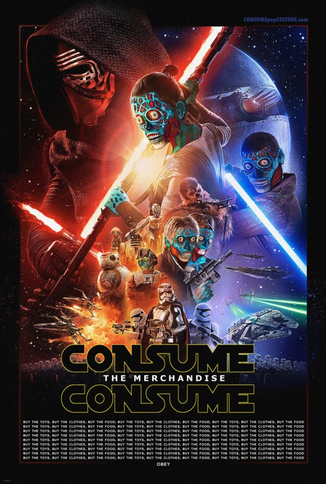 Mañana voy a ver la última de consum... Star Wars, a ver qué tal...