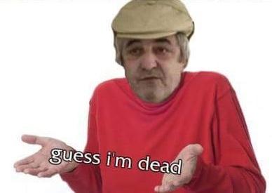 El hombre muerto en vida