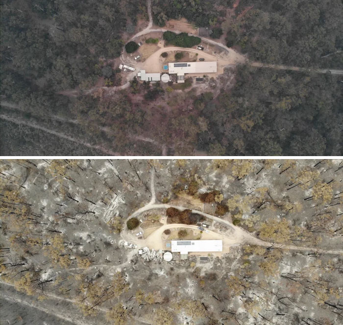 Fotos de Australia antes y después de los daños ocasionados por los incendios [19 FOTOS]
