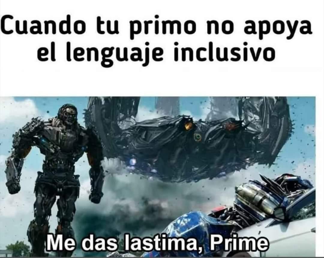 Los Transformers fueron los primeros en introducir el lenguaje inclusivo