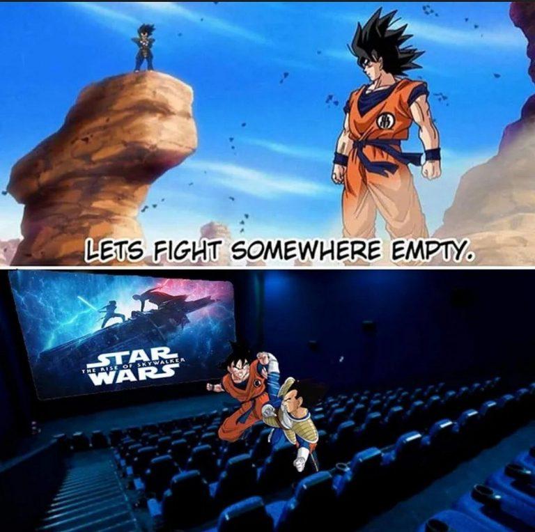 Luchemos en un sitio vacío