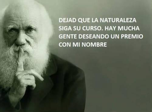 Esta vez Darwin no perdonó...