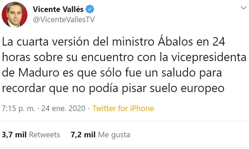 Las declaraciones de Ábalos pasadas por el filtro de Podemos