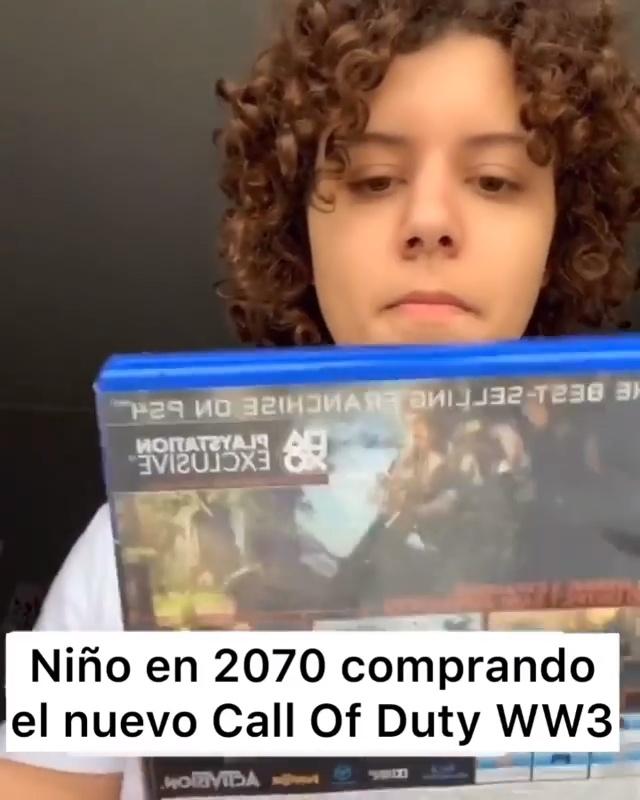 En el futuro se venderán los juegos basados en las guerras presentes...
