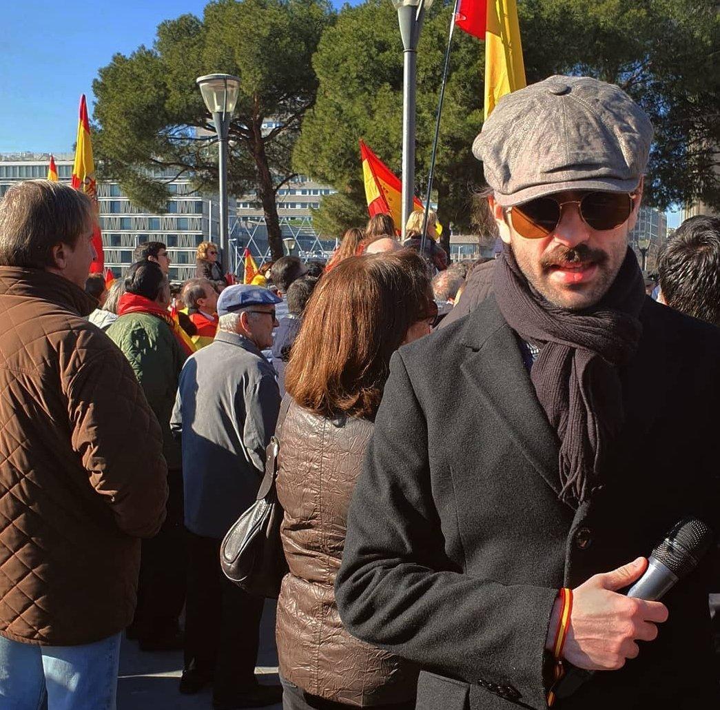 """Fortfast se infiltra en la manifestación de """"España Existe"""" en Teruel"""