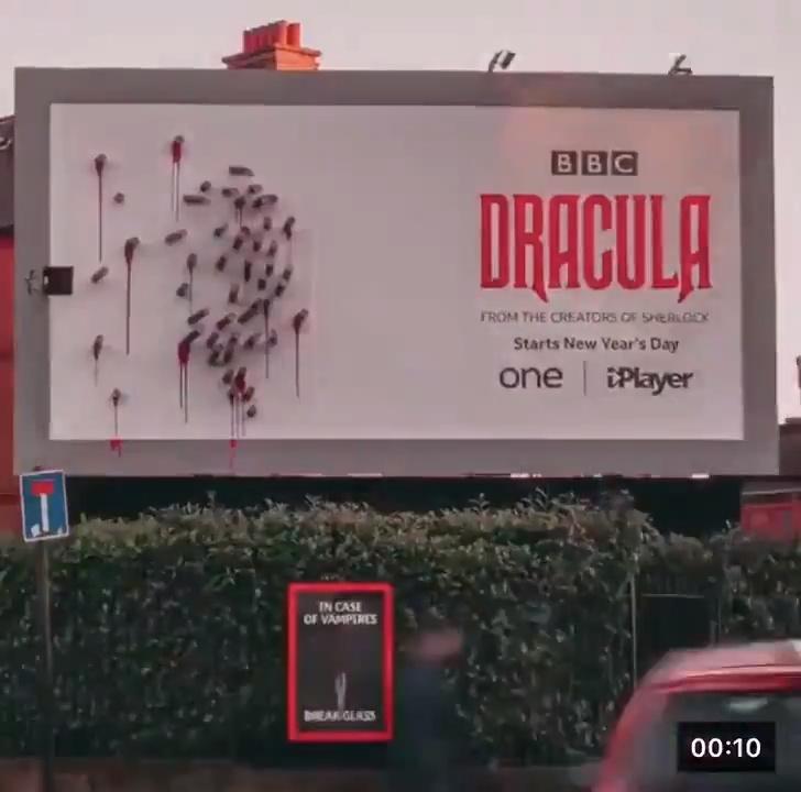 Mis dieses al que diseñó este cartel de Drácula