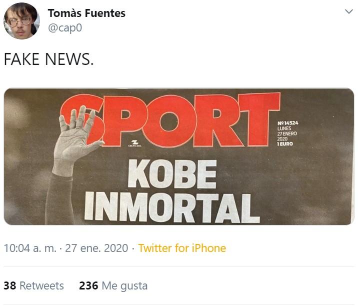 El Sport siempre mintiendo...