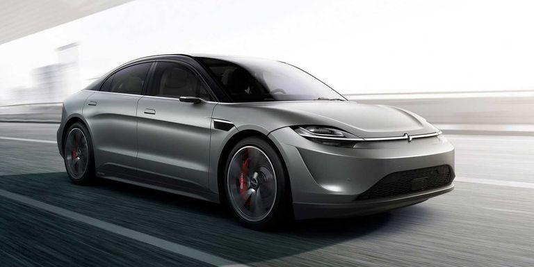 SONY presenta su nuevo coche eléctrico
