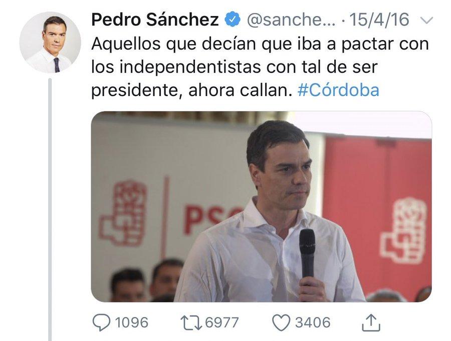 PDRO SNCHZ es oficialmente presidente del gobierno de España