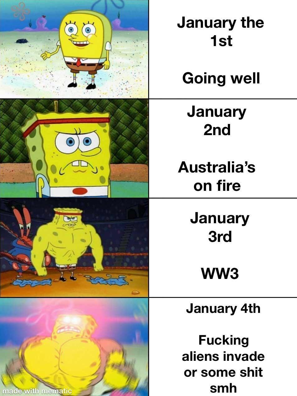 WW3: Ahí van un puñado de memes yankis sobre la movida en la que podrían meternos a todos