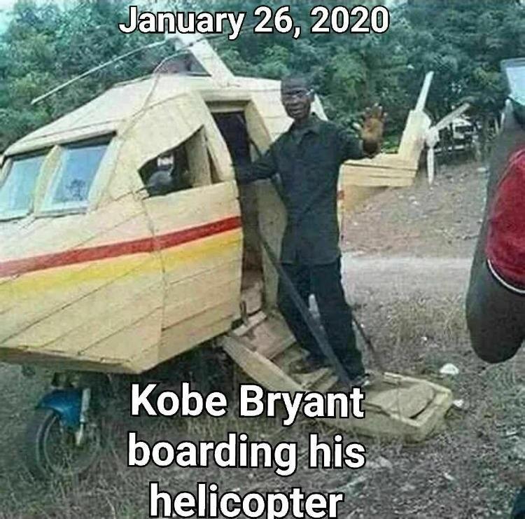 Últimas imágenes de Kobe Bryant montando en el helicóptero