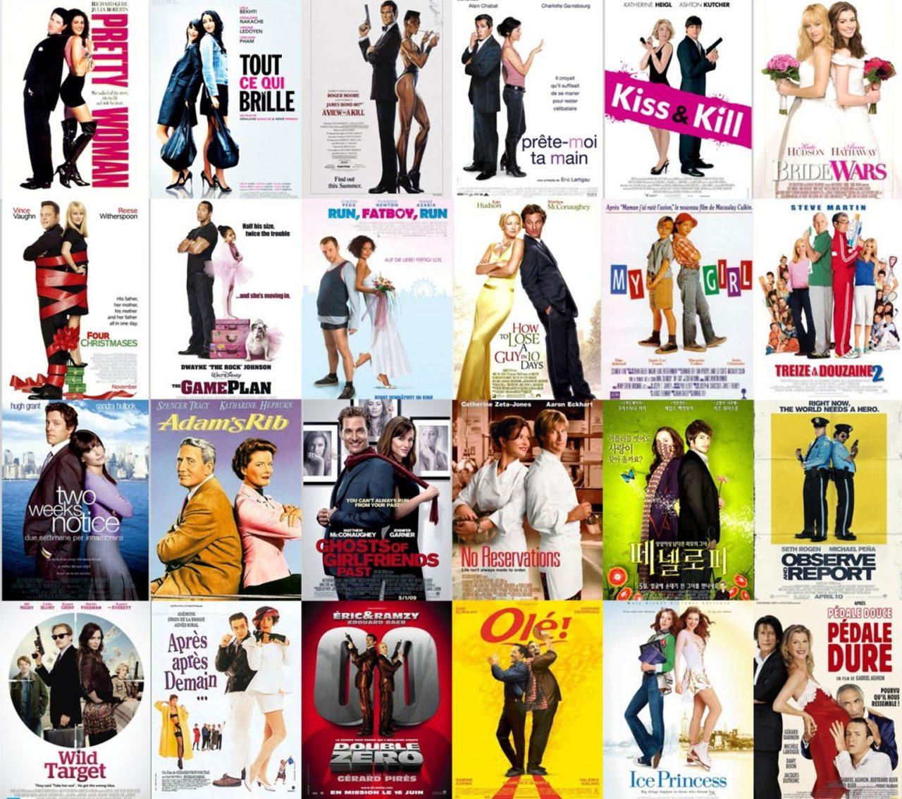 Solo hay 10 tipos de carteles de película