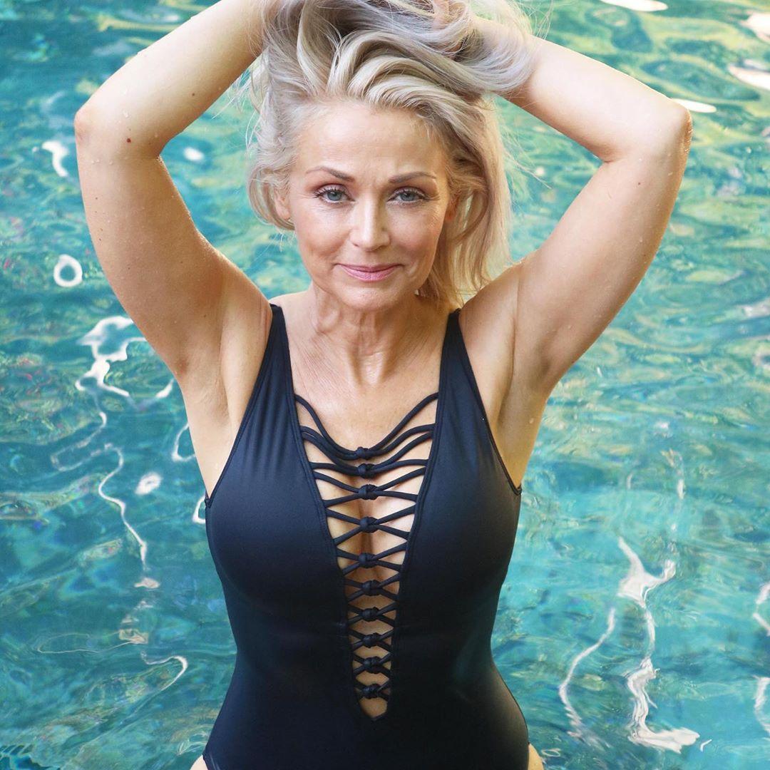 Kathy Jacobs. 56 años. Finalista para la portada de Sports Illustrated