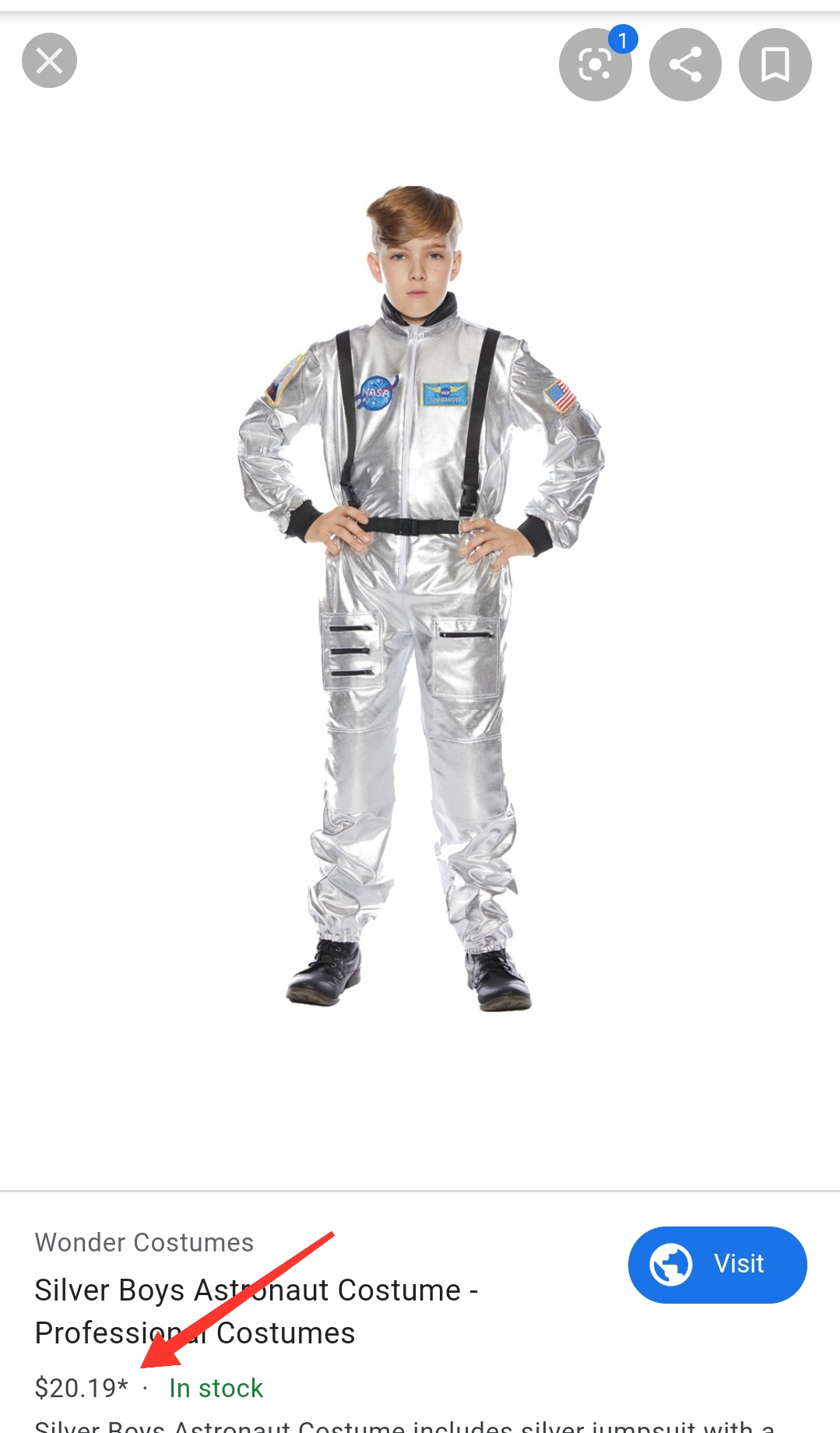 Parece un chiste pero es verdad: el traje espacial que ha presentado Irán es un disfraz de niño de Aliexpress