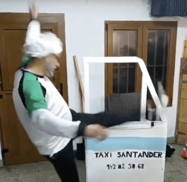 Disfrazaco de GTA San Tander