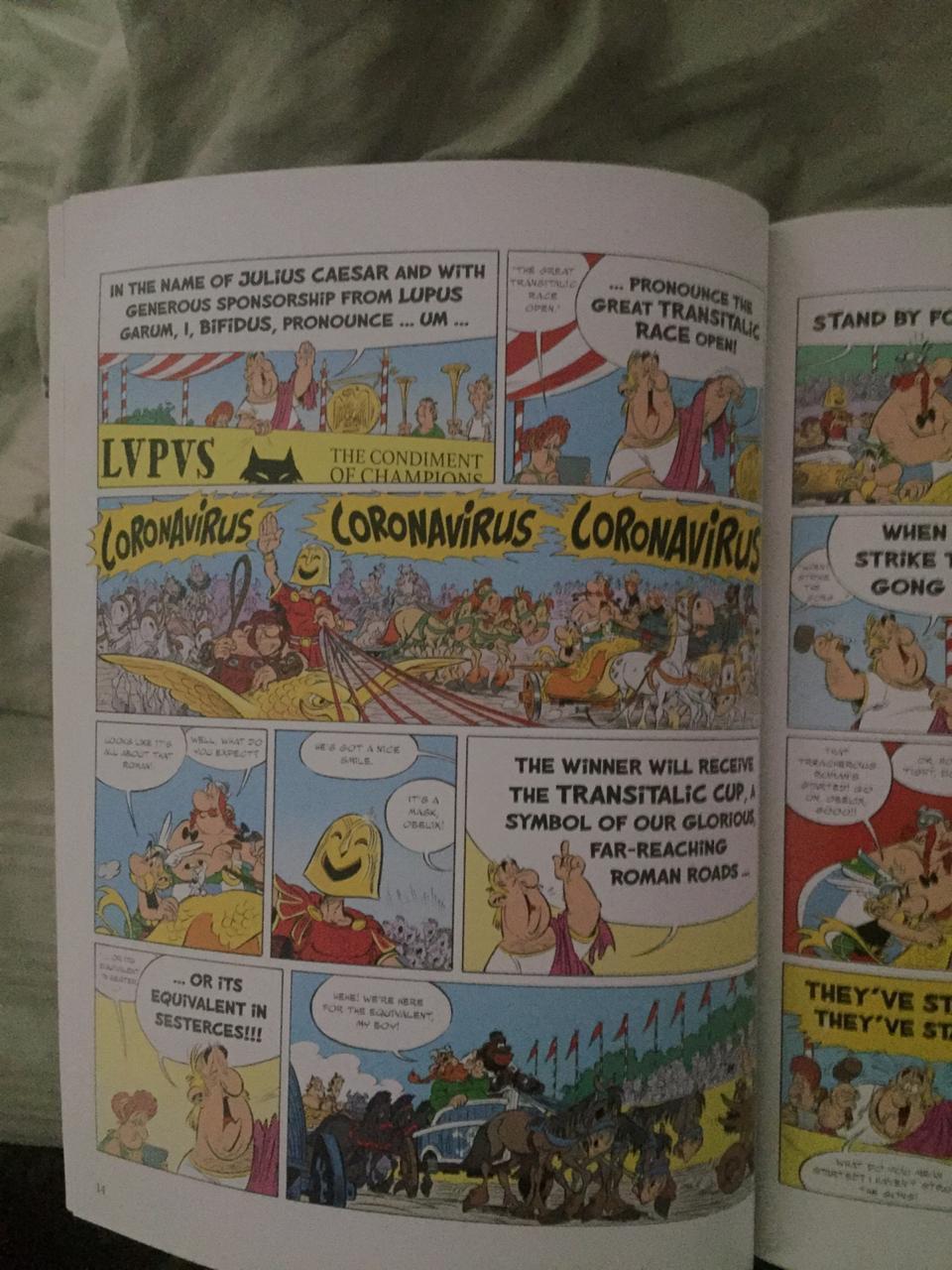 Asterix y Obelix lo predijeron