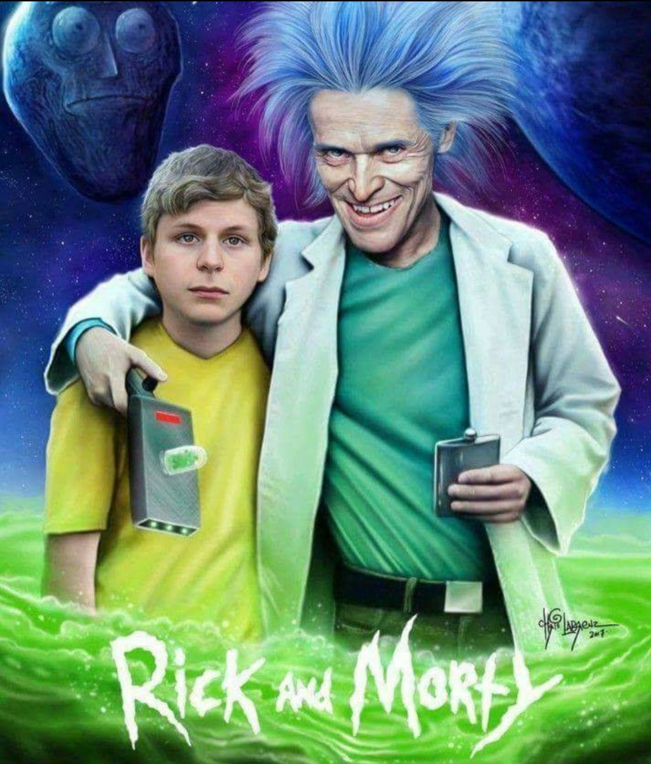 Hollywood intentando no hacer una película de Rick y Morty...
