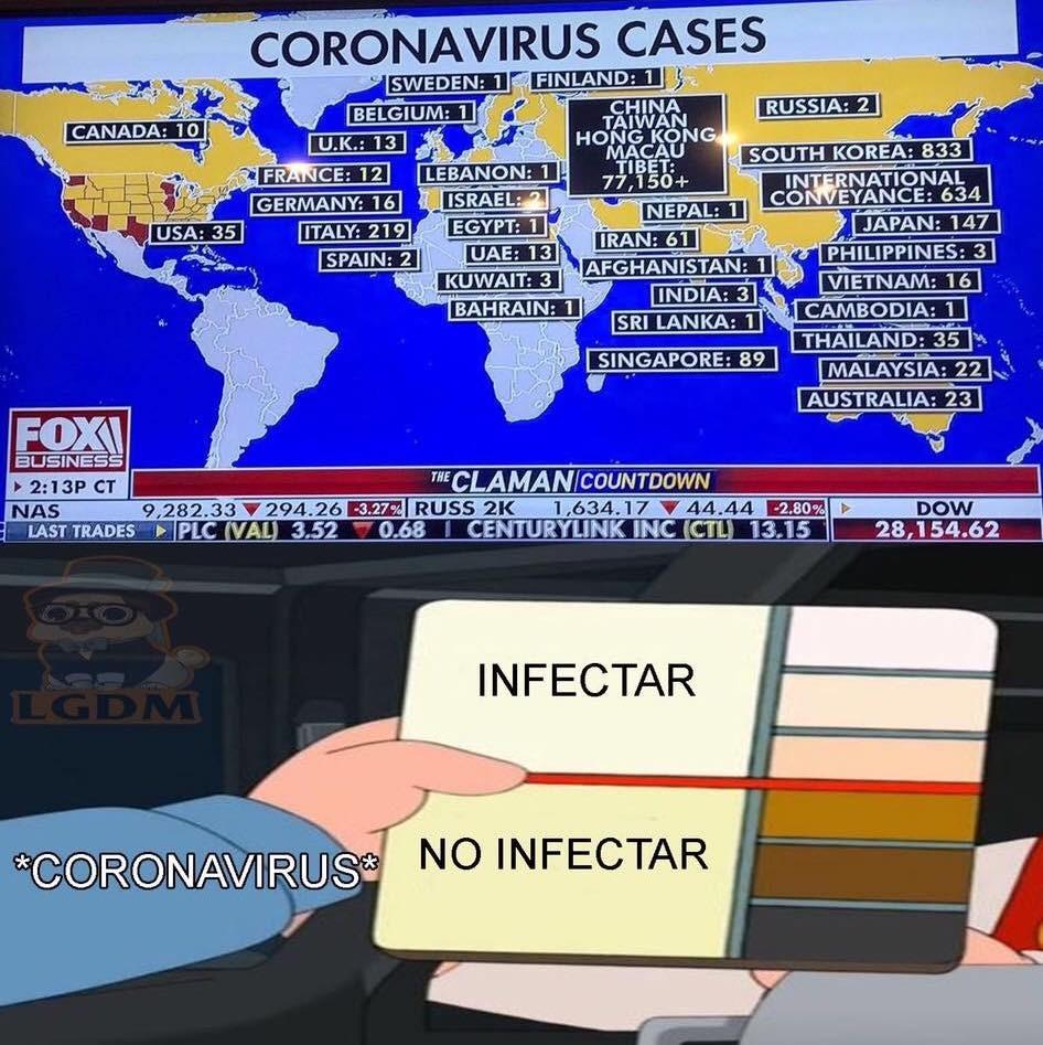 El coronavirus además de ser feminista (afecta más a hombres que a mujeres), es antiracista