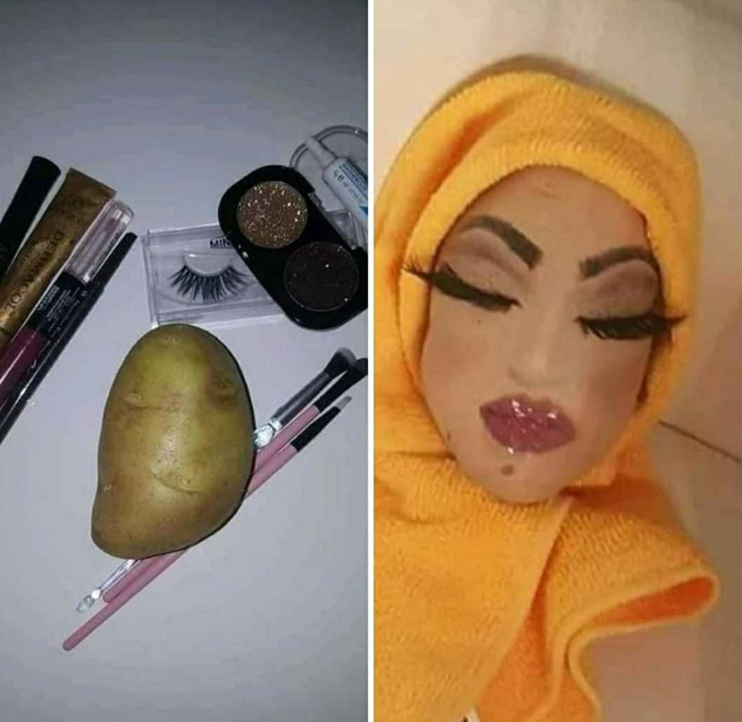 Atada Y Abofeteada Porno el poder del maquillaje – 3memes