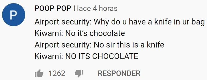 El cuchillo de chocolate más afilado del mundo