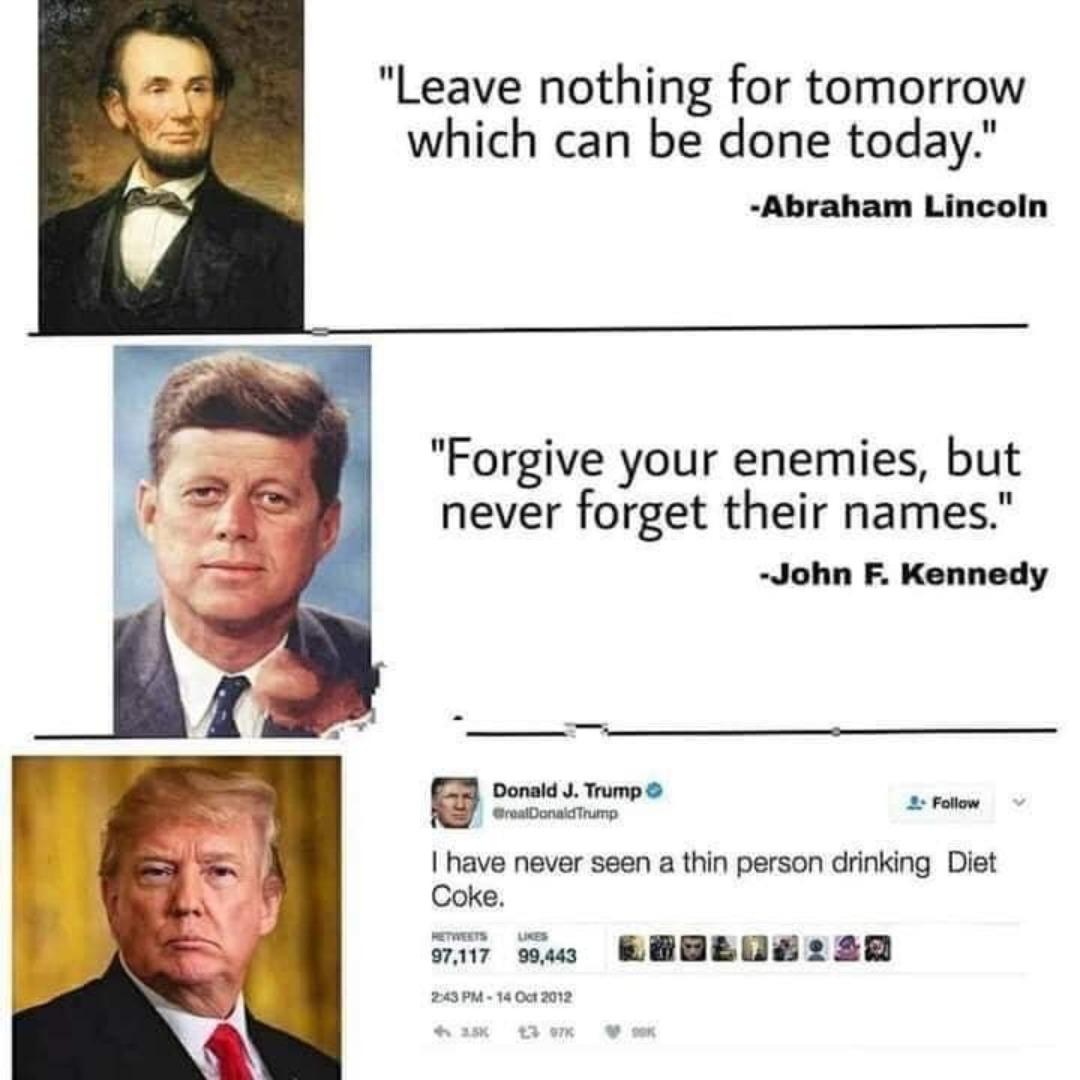 Frases punteras de presidentes top