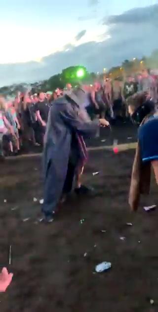 Gandalf cuando llegaba a La Comarca