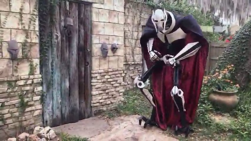 Impresionante cosplay de General Grievous (Star Wars)