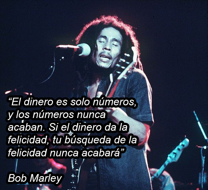 Madre mía las vueltas que daba Bob Marley para decir que se plantaba su propia maría...