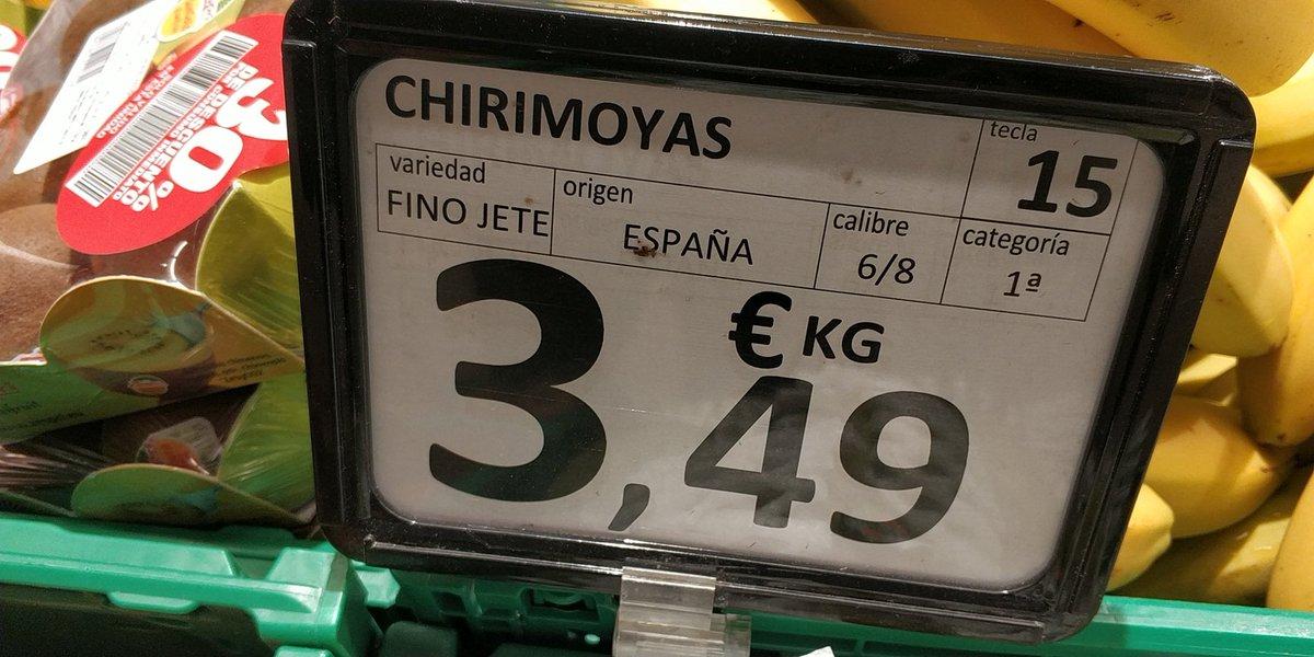 Chirimoyas de la mejor variedad