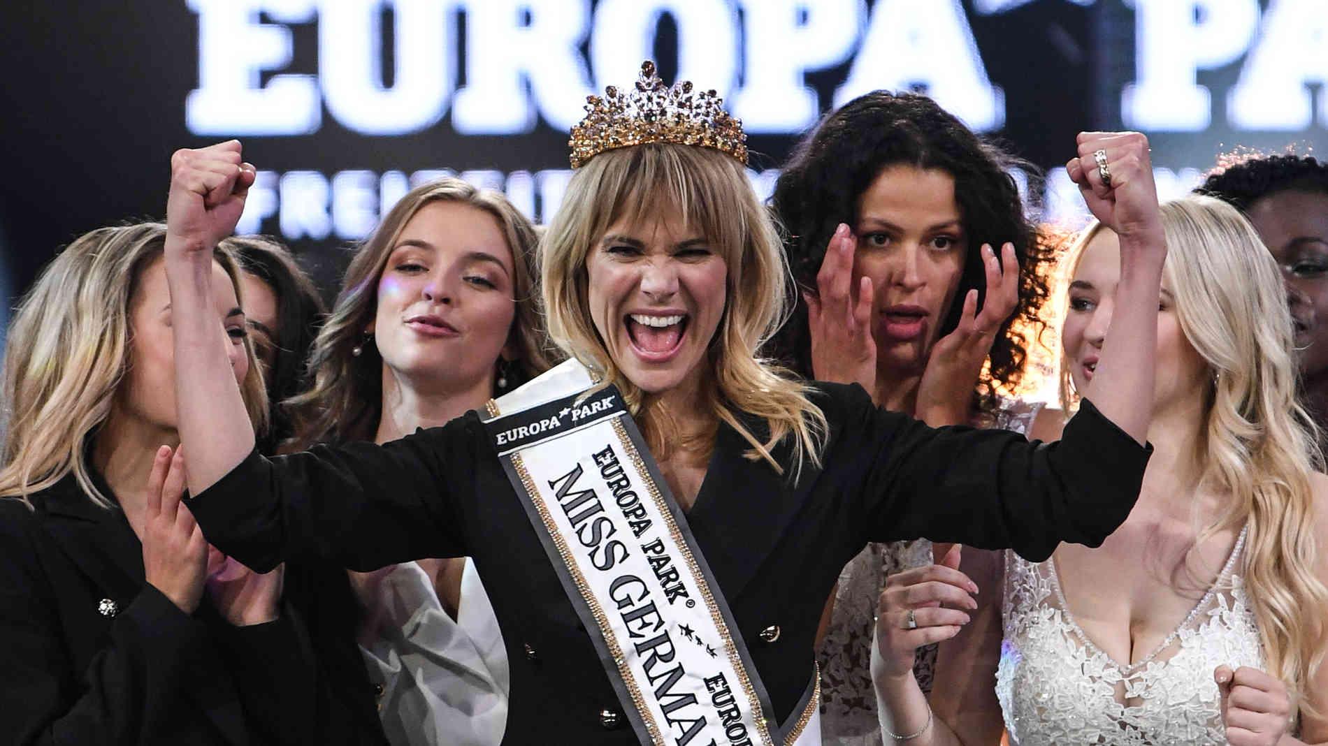 Leonie Charlotte von Hase se proclama Miss Alemania con 35 años