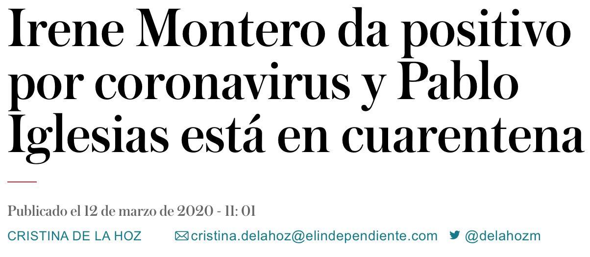 Primero Vox, luego PP y ahora Podemos
