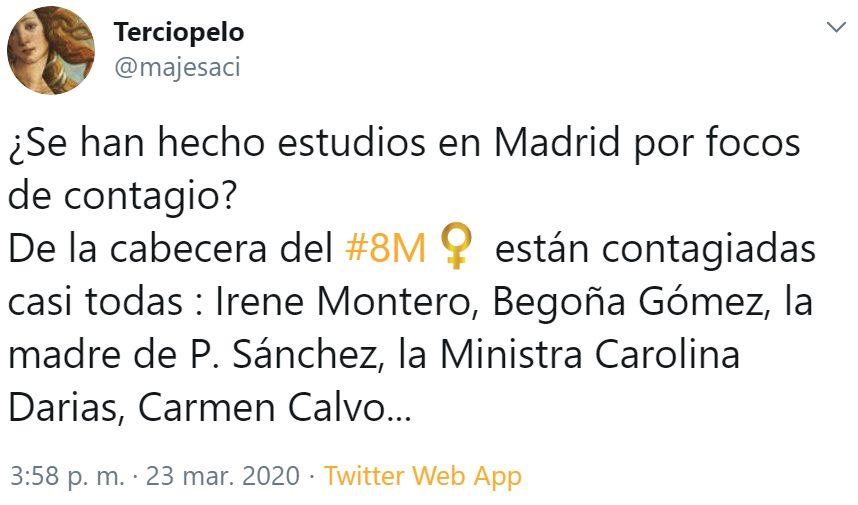 El economista Jano García menciona el 8M como agravante de la curva de contagios, y...