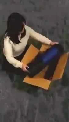 Cómo reconstruir una caja si lo que vas a meter dentro es demasiado largo