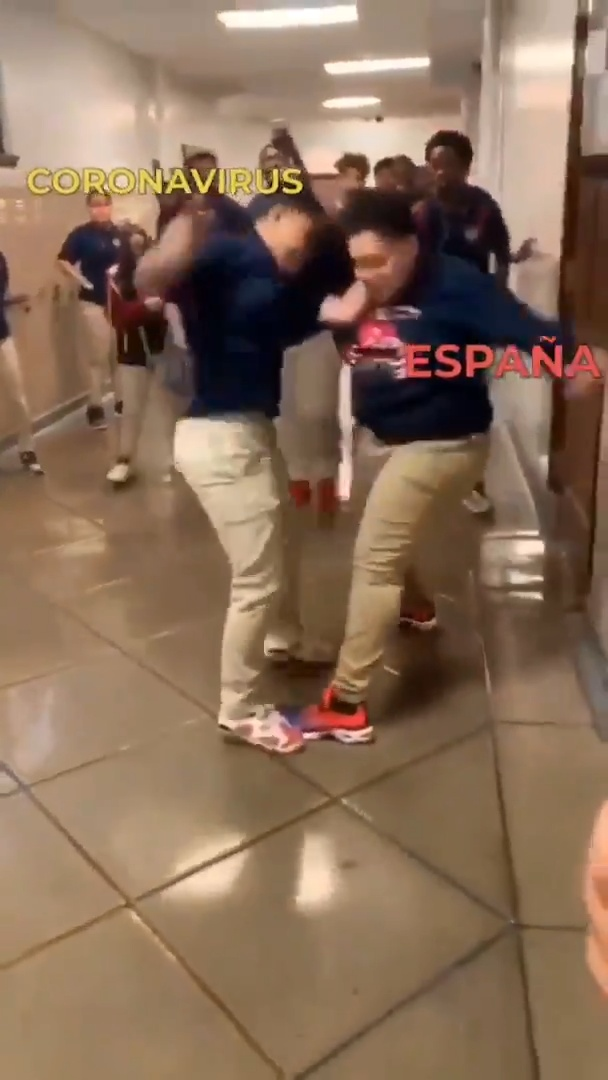 Coronavirus vs España... FIGHT!