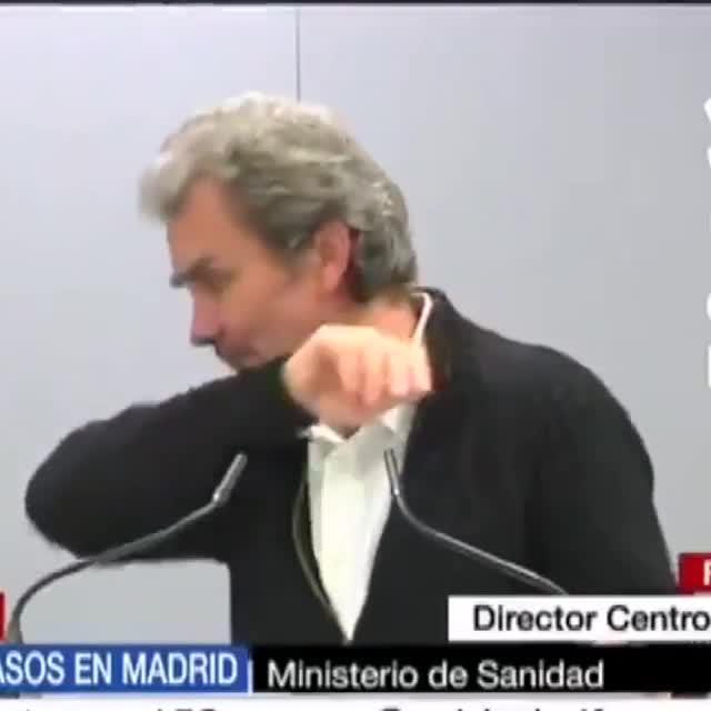 Era cuestión de tiempo... Fernando Simón tiene el bicho