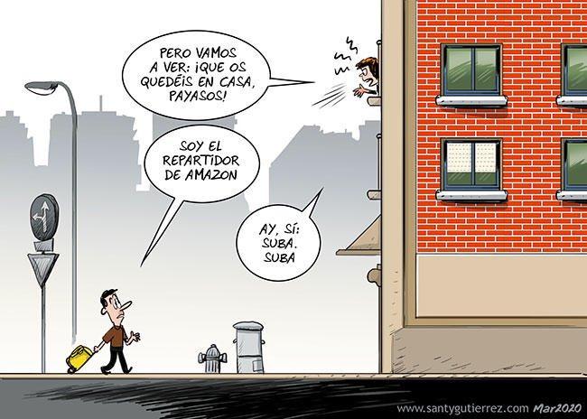 Justicieros de balcón, by Santy Gutiérrez
