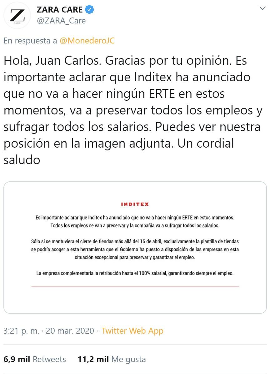 Minipunto y punto para el equipo de Amancio Ortega