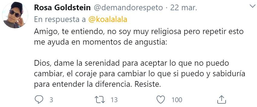 """Por alguna razón el pobre Jorge Díaz (Bilbao), cuya familia está siendo muy afectada por el coronavirus, está sufriendo un """"ataque panchito de condolensias religiosas"""" en Twitter"""