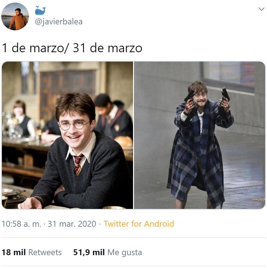 Un Harry Potter para cada momento de cuarentena