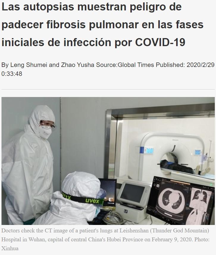 Descubren nuevos daños provocados por el Coronavirus