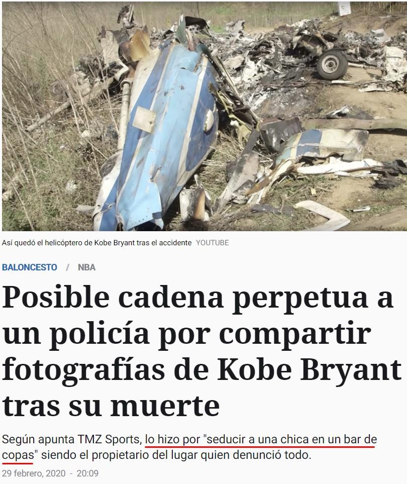 Cadena perpetua por compartir fotos de un muerto... God bless America.